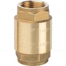 """Обратный клапан Itap EUROPA лат. 1"""" мет. седло"""