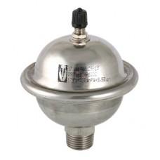 Гаситель гидроударов мембранный,0,162л. (нерж)