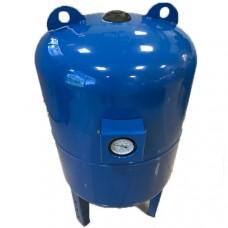 Гидроаккумулятор Aquario 100л. (верт. с манометром)