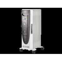 Радиатор масляный Ballu Turbo BOH/TB-07FH 1500 Вт (7 секций) с тепловентилятором