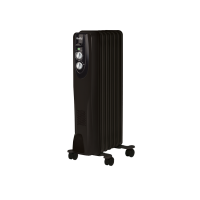Радиатор масляный Ballu Classic Black BOH/CL-07BRN 1500 Вт (7 секций)