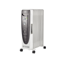 Радиатор масляный Ballu Turbo BOH/TB-09FH 2000 Вт (9 секций) с тепловентилятором