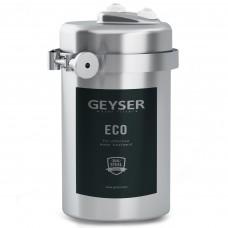 Фильтр Гейзер-Эко для жесткой воды (стационарный фильтр, кран 6, нерж. Корпус)