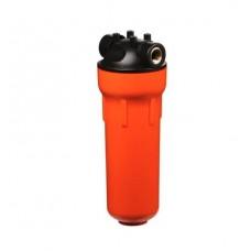 """Корпус Гидротек ВВ 20""""x1"""" оранж., для горячей воды (латунные вставки)"""