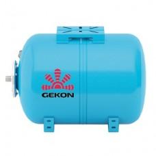Бак мембранный для водоснабжения Gekon WAO100, горизонт.