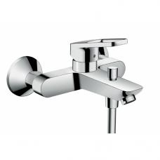 """Смеситель для ванны/душа Hansgrohe Logis Loop, рукоятка """"петля"""", хром"""