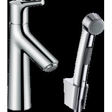 Смеситель для раковины Hansgrohe Talis S, с гигиеническим душем, хром