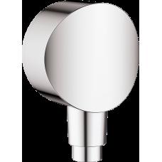 """Шланговое подсоединение Hansgrohe Fixfit S, 1/2"""", с клапаном обр. тока,  хром"""