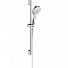 Душевой гарнитур Hansgrohe Croma Select S Multi со штангой 65 см белый/хром