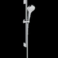 Душевой гарнитур Hansgrohe Croma Select S Vario со штангой 65 см белый/хром