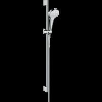Душевой гарнитур Hansgrohe Croma Select S Multi со штангой 90 см белый/хром