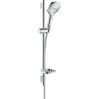 Душевой гарнитур Hansgrohe Raindance Select E 120 3jet со штангой 65 см и мыльницей хром