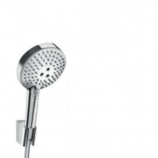 Душевой набор Hansgrohe Raindance Select S 120 3jet P с держателем и шлангом 160 см хром
