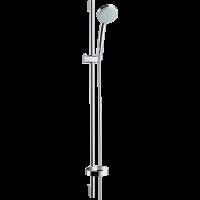 Душевой гарнитур Hansgrohe Croma 100 Vario со штангой 90 см и мыльницей хром