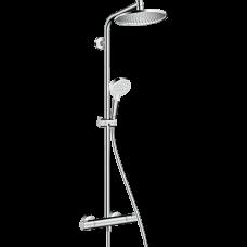 Душевая система Hansgrohe Crometta S 240 Showerpipe с термостатом д/душа, верхний и руч.душ, хром