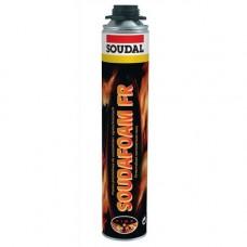 Пена монтажная Soudal Soudafoam ФР 12*750 мл огнестойкая (пистолетная)