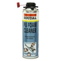 Очиститель Soudal для удаления полиуретановой пены/PU FOAM Cleaner 12*500 мл