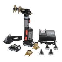 Комплект аккумуляторного инструмента, для монтажа аксиальных фитингов 16-32мм