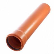 Труба наружная D 110 x 3,4 SN4 SINIKON L 1000 мм