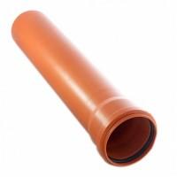 Труба канализационная наружная (3,2мм), KGEM 110*1000