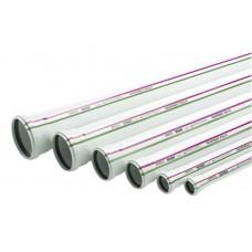 Труба пластиковая с раструбом DN 100/2000 мм  RAUPIANO