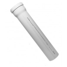 Труба пластиковая с раструбом 110 х 1000 SKEM, OSTENDORF