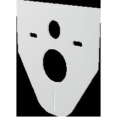 Звукоизоляционная плита для подвесного унитаза и для биде ALСAPLAST