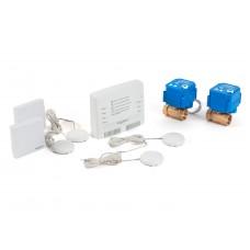 """Беспроводной комплект защиты от протечки воды Бастион AquaBast Квартира 1/2""""-RF"""