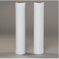 Труба Gekon алюминий диам. 80 мм, L1000 мм, белый