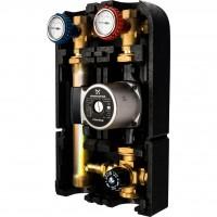 """STOUT Насосная группа с термостатическим смесительным клапаном 1""""с насосом Grundfos UPSO 25-65"""