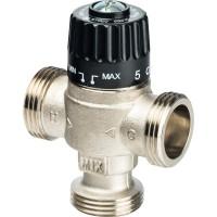 """STOUT Термостатический смесительный клапан для систем отопления и ГВС 3/4"""" НР 30-65°С KV 1,8"""