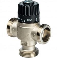 """STOUT Термостатический смесительный клапан для систем отопления и ГВС 1"""" НР 30-65°С KV 1,8"""
