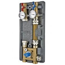 """Насосная группа с байпасом и четырехходовым клапаном  для систем VARIMIX 1 1/4"""" - 4W-KV4"""