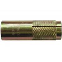 Анкер латунный М10, D 12х35 мм, 10 шт