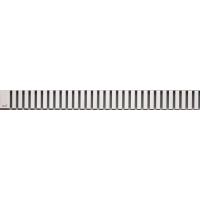 Решетка для дренажного канала матовая 650мм ALСAPLAST LINE-650M