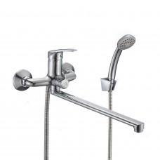 Смеситель для ванны с длинным изливом Milardo Simp