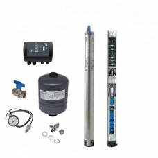 Комплект для поддержания постоянного давления с насосом Grundfos SQE 2 - 115 с кабелем 80 м