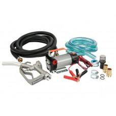 Насос для дизельного топлива Unipump BCD-12V1, 12B, комплект- шланги, обратный клапан, пистолет