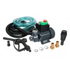Насос для дизельного топлива Unipump BADT40S1, 220B, комплект - шланги, обр. клапан, пистолет