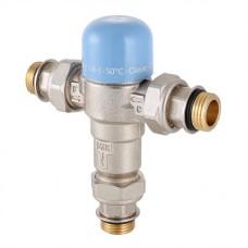 """Трехходовой термостатический смесительный клапан 1/2"""" (не регул.)"""