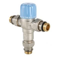 Трехходовой термостатический смесительный клапан (регул)