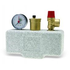 Группа безопасности котла Watts KGS30/ISO2 до 50кВт 3бар в теплоизоляции