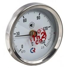 Термометр БT-30 Dy63 накладной, 0-150*
