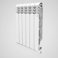 Радиатор алюминиевый Royal Thermo Revolution 500 х 80 6 секций