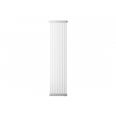 Радиатор труб. Zehnder Charleston 2180, 04 сек.1/2 бок.подк. RAL9016 (кроншт.в компл)