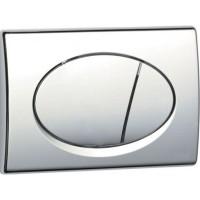 Кнопка управления системой инсталляции Alcaplast М71 хром-глянцевая