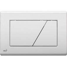 Кнопка управления системой инсталляции Alcaplast М170 белая