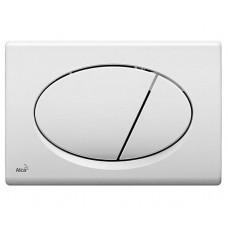 Кнопка управления системой инсталляции Alcaplast М70 белая
