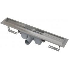 Канал дренажный стальной для сплошных решеток ALCAPLAST 300*60 д.50мм APZ6-300 без решетки