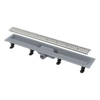 Канал дренажный ALCAPLAST 650*60 д.40мм APZ10-650 (решетка Simple Line в компл.)